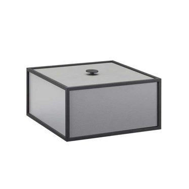 By Lassen Frame 20 opbergbox - dark grey