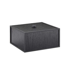 By Lassen Frame 20 opbergbox - black stained ash