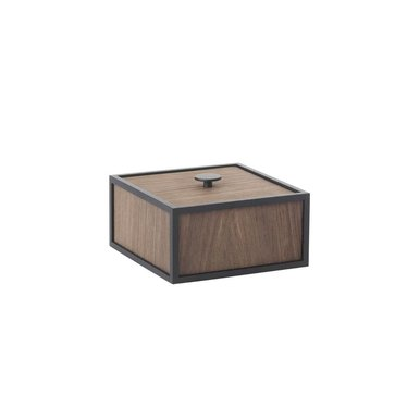 By Lassen Frame 14 opbergbox - smoked oak