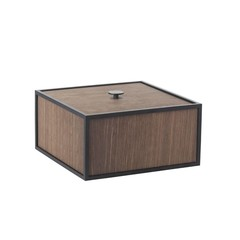 By Lassen Frame 20 opbergbox - smoked oak