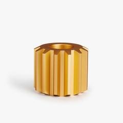 New Works Gear kandelaar Gold - wide