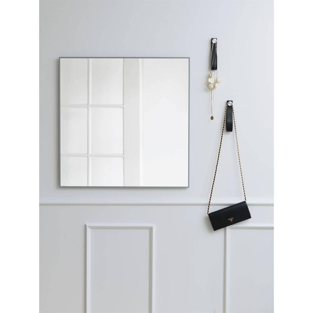 minimalistische spiegel view cool grey van by lassen online bestellen nordic blends. Black Bedroom Furniture Sets. Home Design Ideas