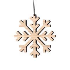 Felius hanger Snowflake 2-pack eiken