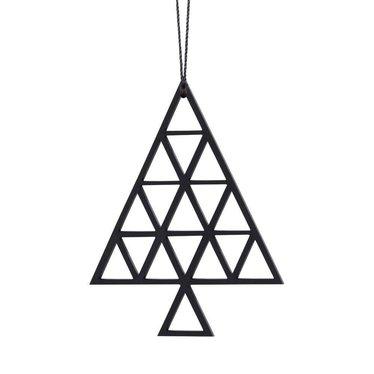 Felius hanger Christmas Tree 2-pack zwart