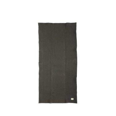 Ferm Living Organic hand towel dark gray