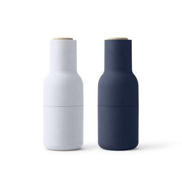 Menu peper- en zoutmolens Bottle Grinder Classic Blue, 2-pack