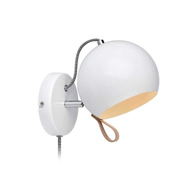 Markslöjd Wandlamp Ball wit