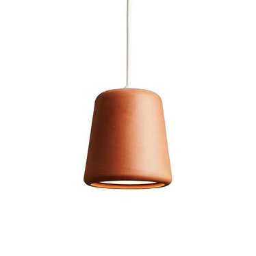 New Works pendant Material - Terracotta