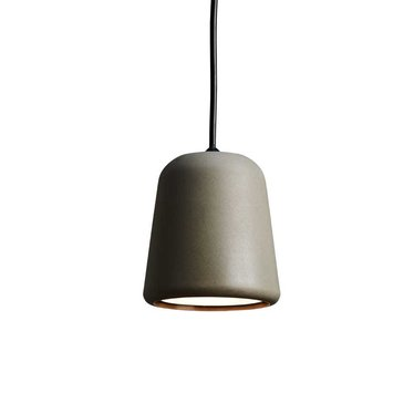 New Works hanglamp Material - Dark Grey Concrete