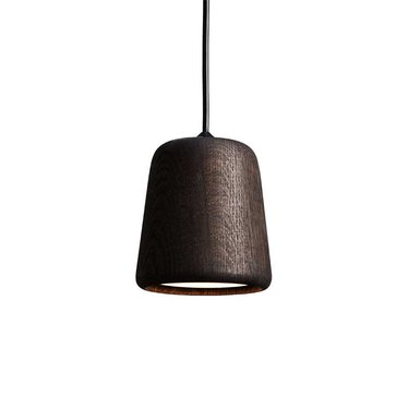 New Works hanglamp Material - Smoked Oak