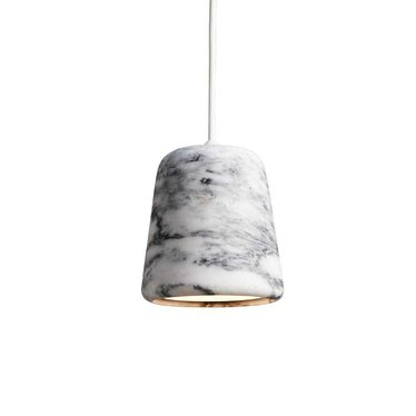 New Works hanglamp Material - White Marble