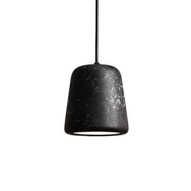 New Works hanglamp Material - Black Marble
