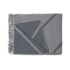 By Lassen wool plaid Mesch grey