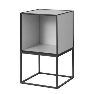 By Lassen Frame 35 open Sideboard - light grey