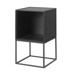 By Lassen Frame 35 open Sideboard - black stained ash