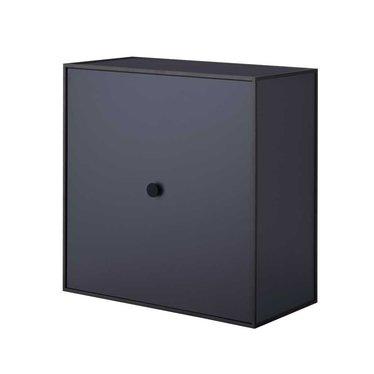 By Lassen Frame 42 kast met deur - dark blue