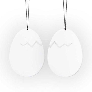 Felius hanger Hatched Easter Egg wit 2-pack
