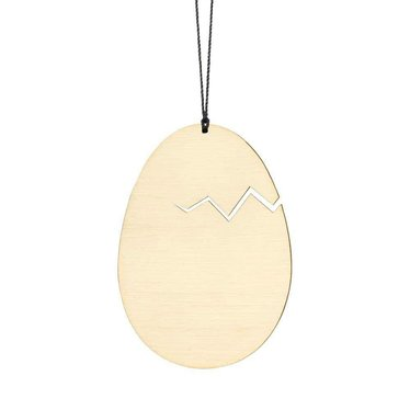 Felius hanger Hatched Easter Egg messing 2-pack