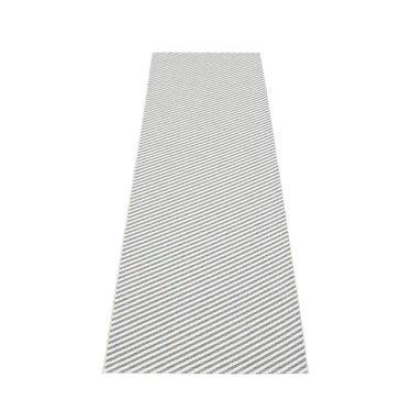 Pappelina smal plastic vloerkleed Will