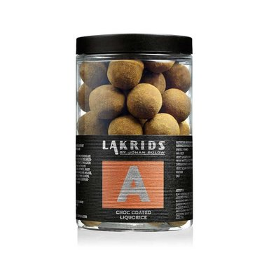Lakrids by Johan Bülow Big A - Choc Coated Liquorice - 250 g