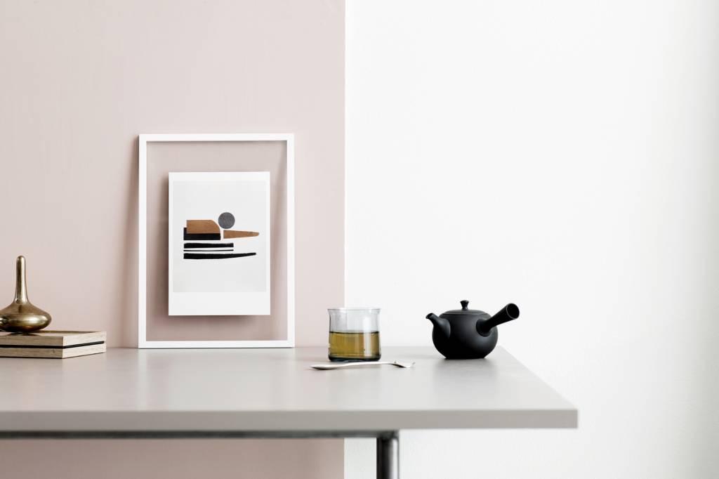 Moebe transparent frame frame A3 white order online at Nordic Blends ...