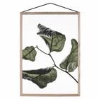 Moebe print Floating Leaves 03 (div maten)