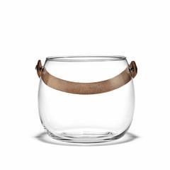 Holmegaard DWL glazen pot 12 cm