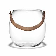 Holmegaard DWL glazen pot 16 cm