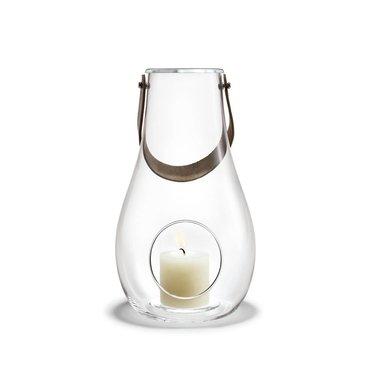 Holmegaard Design with Light lantaarn helder glas 29 cm