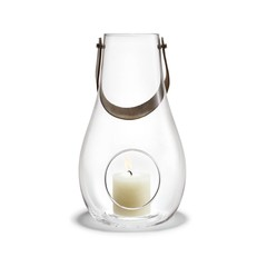 Holmegaard DWL lantaarn helder glas 45 cm