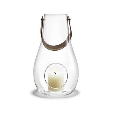 Holmegaard Design with Light lantaarn helder glas 45 cm
