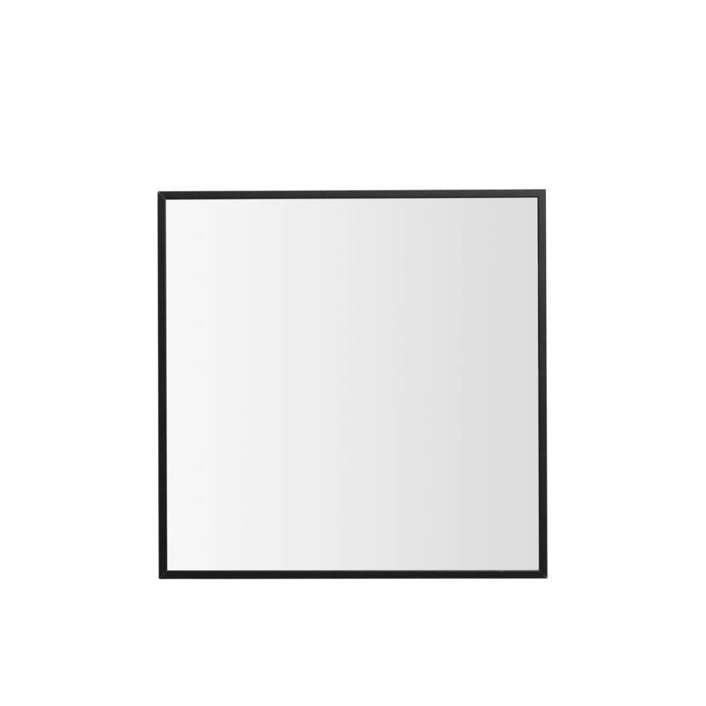 zwarte by lassen spiegel view 29 7x29 7 cm kopen nordic. Black Bedroom Furniture Sets. Home Design Ideas