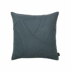 By Lassen cushion Flow 50x50 pine green