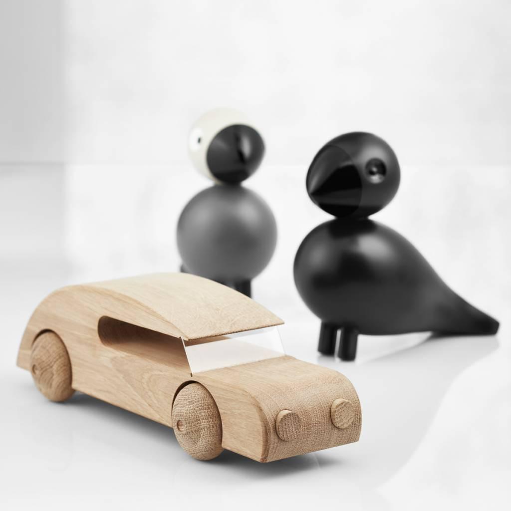kay bojesen houten vogel songbird ravn zwart kopen nordic blends. Black Bedroom Furniture Sets. Home Design Ideas