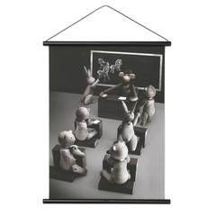 Kay Bojesen poster Monkey classroom