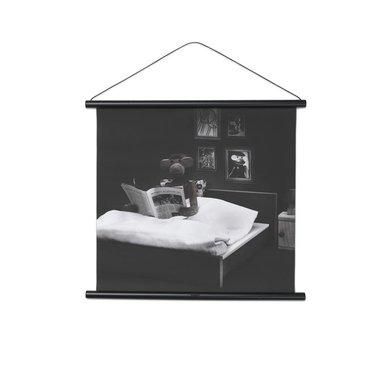 Kay Bojesen Poster Monkey reading in bed