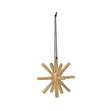 Ferm Living Winterland Brass Ornament - ster