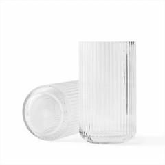 Lyngby Porcelaen glazen vaas - helder (diverse maten)