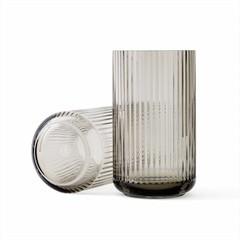 Lyngby Porcelaen glazen vaas - smoke (diverse maten)