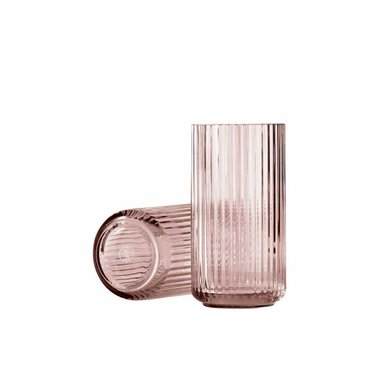 Lyngby Porcelaen Glass vase - Burgundy