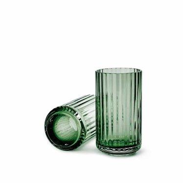 Lyngby Porcelaen Glazen vaas - Copenhagen Green