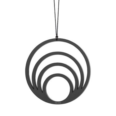 Felius Hanger Circle 4 in 1 2-pack zwart