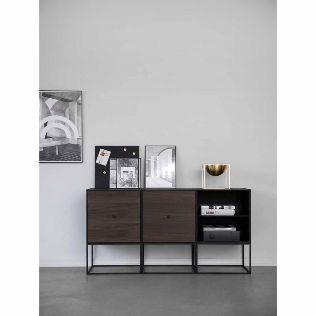 By Lassen Frame 49 Sideboard With Door Smoked Oak Nordic Blends