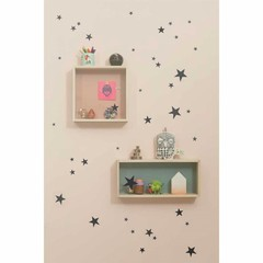 Ferm Living wall stickers Mini Stars star black