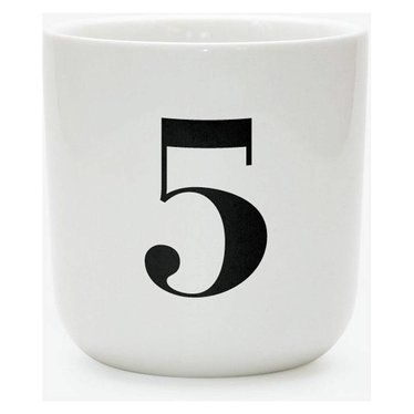 Playtype Porcelain number mug