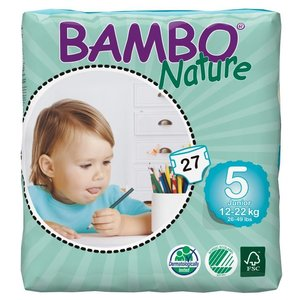 Bambo Nature Bambo Nature  Luiers junior 5 voor kindjes van 12 tot 22 kg