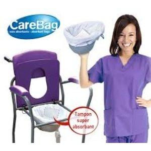 CareBag Opvangzakken voor toiletstoel