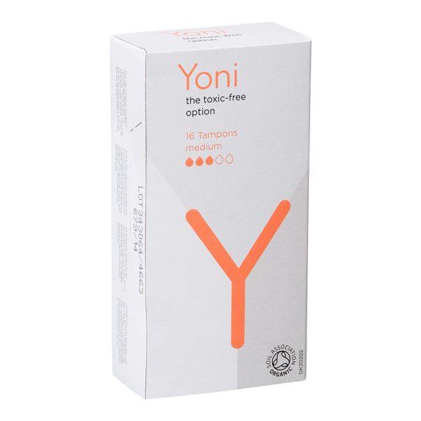 Yoni, tampons van biologisch katoen