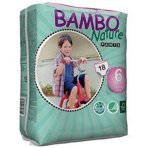 Bambo Nature Bambo Nature Training Pants (eco luierbroekjes) maat 6