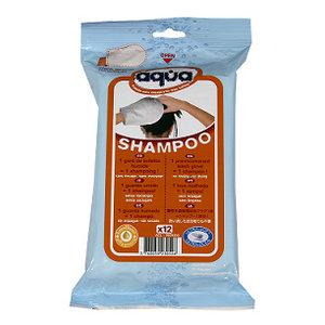 Cleanis Shampoo washandjes, haar wassen zonder water 12 stuks